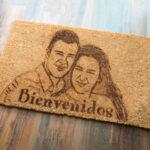 Felpudos personalizados - Grabadoycorteporlaser.com